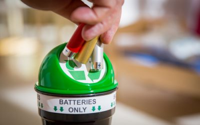 Do you need help with battery recycling?